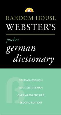 Random House Webster's Pocket German Dictionary, 2nd Edition Cover