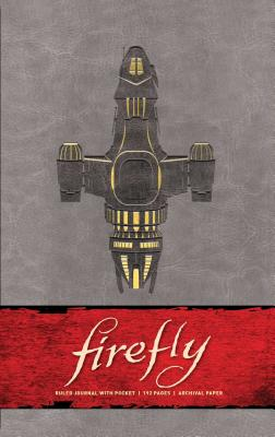 Firefly Hardcover Ruled Journal (Science Fiction Fantasy) Cover Image