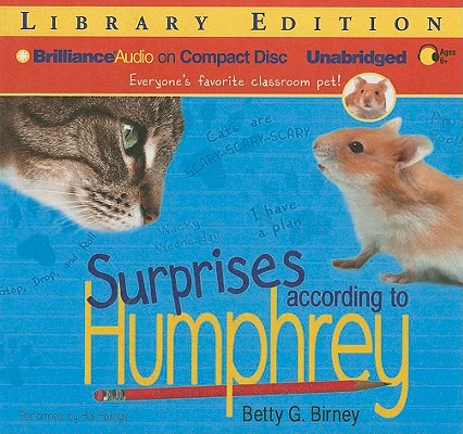 Surprises According to Humphrey (Humphrey (Audio) #4) Cover Image