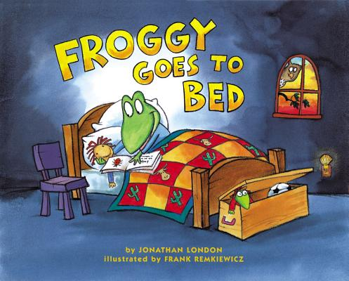 Froggy Goes to Bed Cover