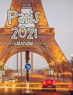 Paris 2021 Calendar Cover Image