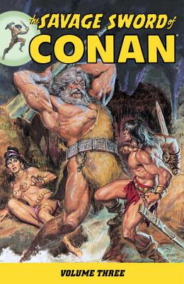 The Savage Sword of Conan, Volume 3 Cover