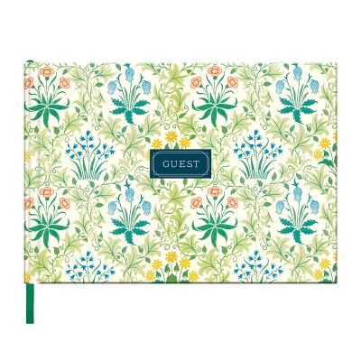William Morris Celandine Guest Book Cover Image