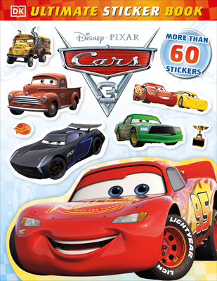 Ultimate Sticker Book: Disney Pixar Cars 3 Cover Image