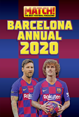 Match! Barcelona Annual 2021 Cover Image