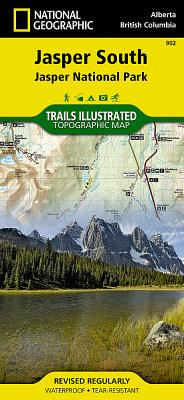 Jasper South [Jasper National Park] (National Geographic Trails Illustrated Map #902) Cover Image