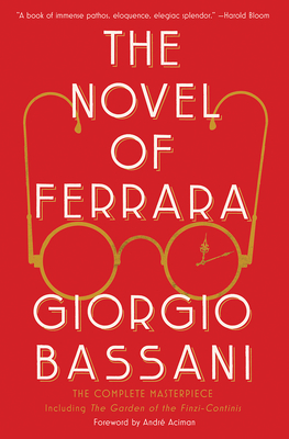 The Novel of Ferrara cover
