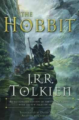 The Hobbit (Graphic Novel): An Illustrated Edition of the Fantasy Classic (Lord of the Rings) Cover Image