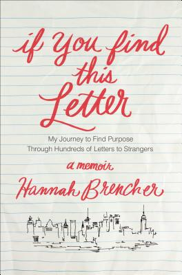 Cover for If You Find This Letter
