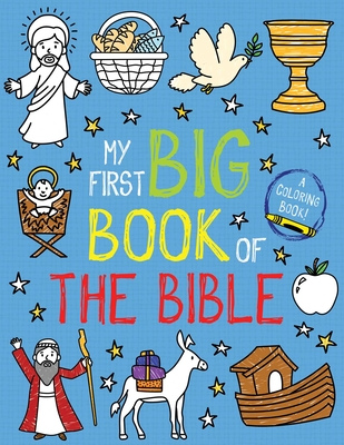 My First Big Book of the Bible (My First Big Book of Coloring) Cover Image