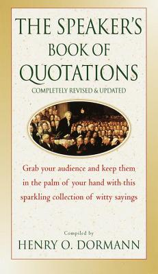 The Speaker's Book of Quotations, Updated and Revised Cover