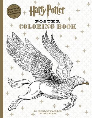 Harry Potter Poster Coloring Book Cover Image