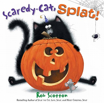 Scaredy-Cat, Splat! Cover Image