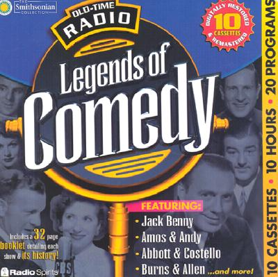 Legends of Comedy (10-Hour Collections) Cover Image
