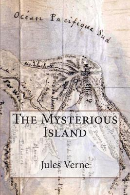 The Mysterious Island: Illustrated Cover Image
