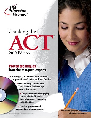 Cracking the ACT with DVD, 2010 Edition Cover Image