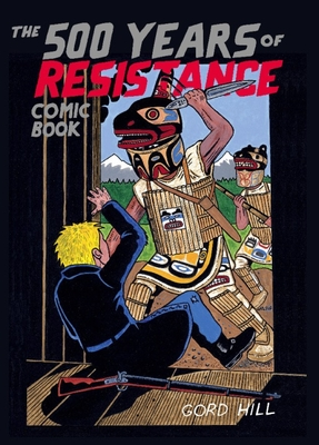 The 500 Years of Resistance Comic Book Cover Image