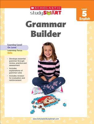 Scholastic Study Smart Grammar Builder Grade 5 Cover Image