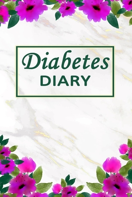 Diabetes Diary: Practical Design and Modern Layout. 2 Year Record for Daily Blood Sugar Readings. Cover Image