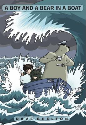 A Boy and a Bear in a Boat Cover