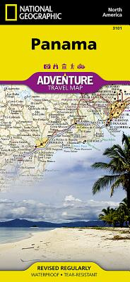 Panama (Adventure Map (Numbered) #3101) Cover Image