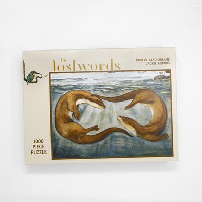 The Lost Words Otter Puzzle Cover Image