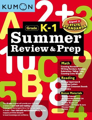 Summer Review and Prep K-1 Cover Image