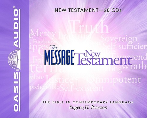 The Message Bible: New Testament Cover Image