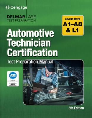 Automotive Technician Certification Test Preparation Manual Cover Image