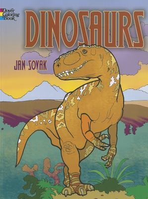 Dinosaurs (Dover Coloring Books for Children) Cover Image