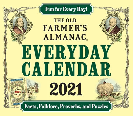 The 2021 Old Farmer's Almanac Everday Calendar Cover Image