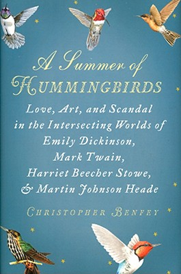 A Summer of Hummingbirds Cover