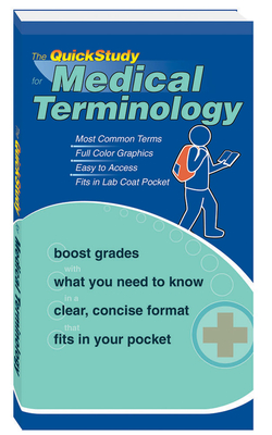 The QuickStudy for Medical Terminology (Quickstudy Books) Cover Image