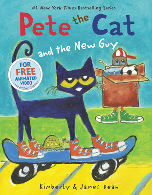 Cover for Pete the Cat and the New Guy