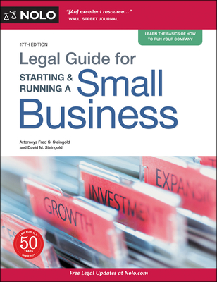 Legal Guide for Starting & Running a Small Business Cover Image