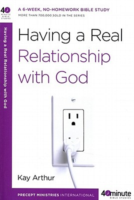 Having a Real Relationship with God Cover Image