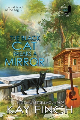 The Black Cat Breaks a Mirror (Bad Luck Cat Mystery #5) Cover Image