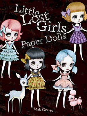 Little Lost Girls Paper Dolls Cover Image