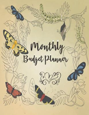 Monthly Budget Planner: Budget Planner and Financial Planner Workbook- Happy Planner Budget / Monthly Bill Planner and Organizer/Large 8.5 x 1 Cover Image