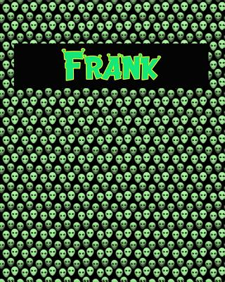 120 Page Handwriting Practice Book with Green Alien Cover Frank: Primary Grades Handwriting Book Cover Image