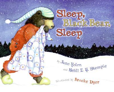 Sleep, Black Bear, Sleep Cover
