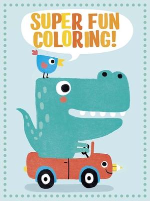 Super Fun Coloring! (Green) Cover Image