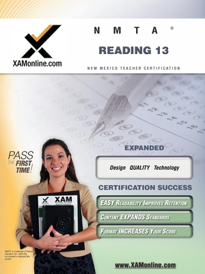Nmta Reading 13 Teacher Certification Test Prep Study Guide Cover