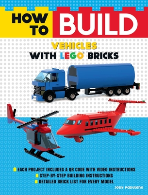 How to Build Vehicles with LEGO Bricks Cover Image