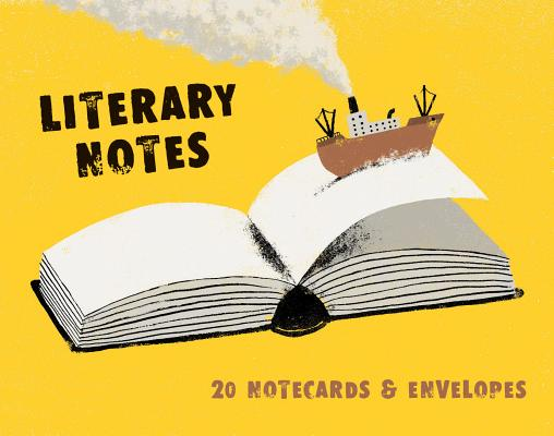 Literary Notes: 20 Notecards & Envelopes Cover Image