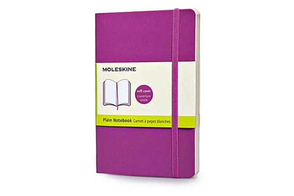 Moleskine Classic Colored Notebook, Pocket, Plain, Orchid Purple, Soft Cover (3.5 x 5.5) Cover Image