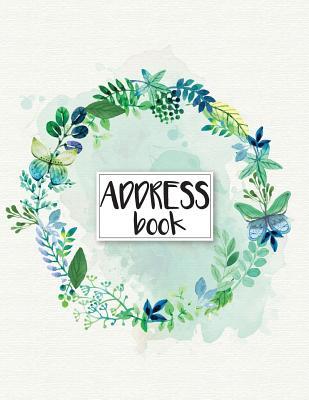 Address Book: Large Print - Address Book For Women - 8.5