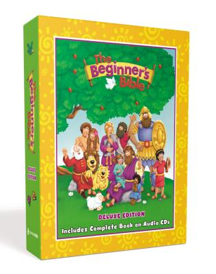 The Beginner's Bible Deluxe Edition: Includes Complete Book on Audio CDs Cover Image