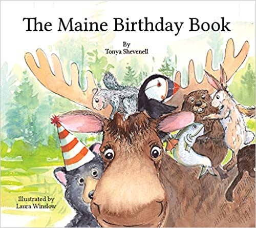 THE MAINE BIRTHDAY BOOK Cover Image