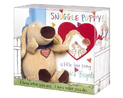 Snuggle Puppy!: Book & Plush Gift Set Cover Image